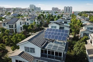 SUNHOME PV, the best choice for villa